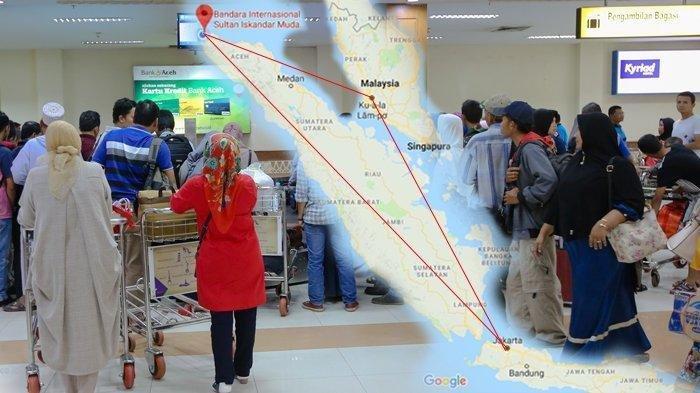 Tiket Pesawat Aceh-Malang 6 Orang Rp24 Juta, Pria Ini Pilih Transit Kuala Lumpur dan Hemat Rp18 Juta
