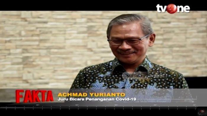 Ramai Isu 'Herd Immunity', Achmad Yurianto Jelaskan Maksudnya: Covid Bukan Takdir, Bukan Pembagian
