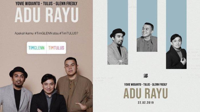 Lirik Lagu 'Adu Rayu' dari Yovie Widianto, Kolaborasi Bersama Tulus dan Glenn Fredly
