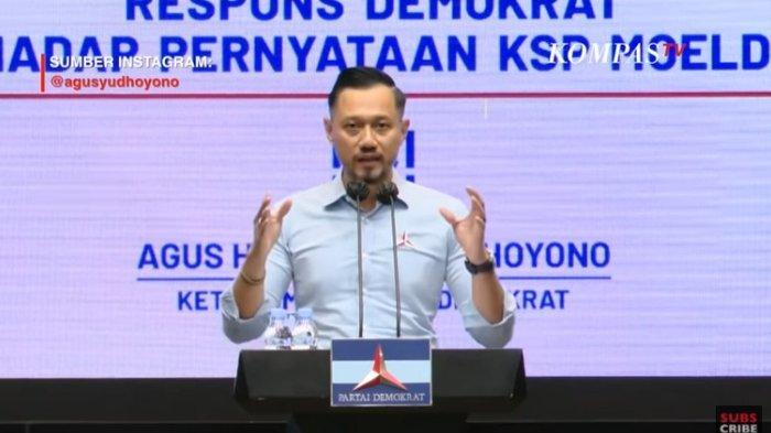 Tuntut Moeldoko Tanggung Jawab Buat Demokrat Sakit Hati, AHY Sebut Upaya Pembusukan: Tolong Dijawab