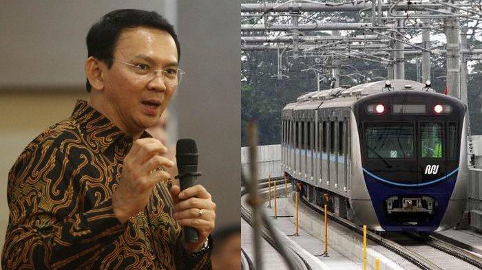 Kata Basuki Tjahaja Purnama atau Ahok soal Peresmian MRT di Jakarta