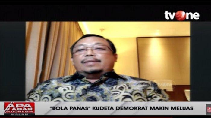 Ketua BPOKK DPP Partai Demokrat Herman Khaeron menjelaskan soal isi surat yang dikirim Ketua Umum Partai Demokrat Agus Harimurti Yudhoyono (AHY) kepada Presiden RI Joko Widodo (Jokowi), Ditayangkan dalam acara Apa Kabar Indonesia Malam, Jumat (5/2/2021).