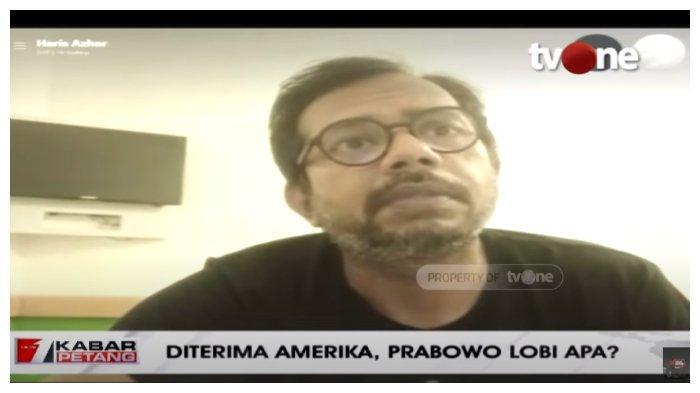 Soal Undangan Prabowo dari Amerika Serikat, Haris Azhar: Rezimnya Sama, Berkarakter Otoritarian