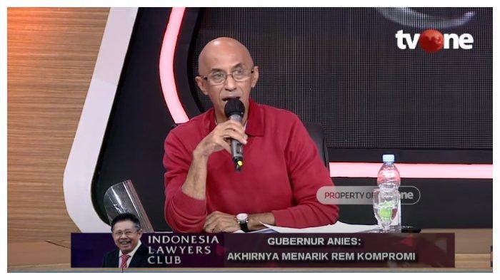 Aktivis Sosial Geisz Chalifah merasa tidak terima dengan sikap yang ditunjukkan Partai Solidaritas Indonesia (PSI) kepada kepemimpinan Gubernur DKI Jakarta Anies Baswedan, dalam acara Indonesia Lawyers Club (ILC), Selasa (15/9/2020).