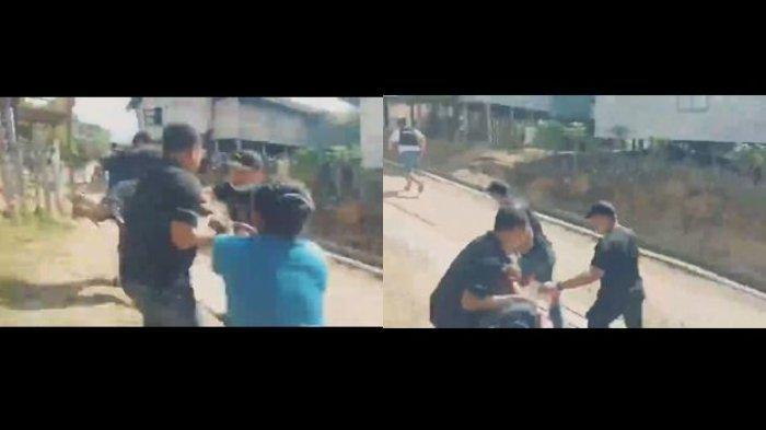 Viral Video Ketua Adat Kinipan Effendi Buhing Diseret Paksa Polisi, Kini Telah Dibebaskan