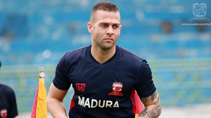 Aleksandar Rakic Tak Ingin Korbankan Kemenangan Madura United demi Target Pribadi