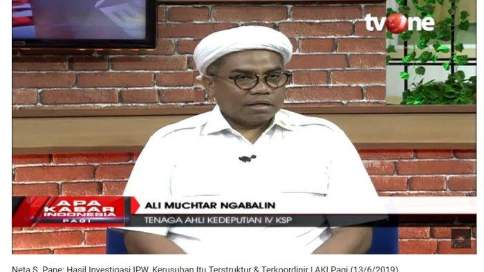 Respons Ali Ngabalin saat Polisi Disebut Langgar UU karena Putar Video Tersangka Kerusuhan 22 Mei