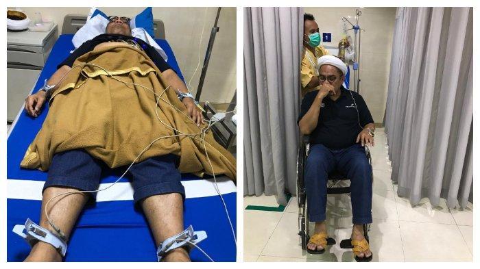Dirumorkan Kena Penyakit Stroke, Ali Ngabalin Bantah dan Unggah Foto saat di Rumah Sakit