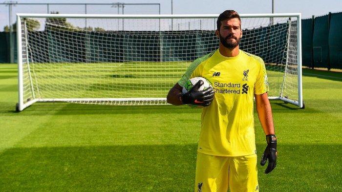 Kiper baru Liverpool, Alisson Becker