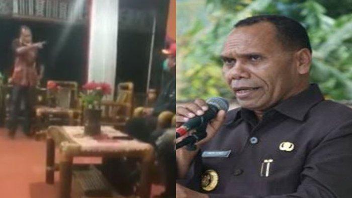 Sosok Bupati Alor Amon Djobo, Viral Usir Staf Risma, Pernah Ancam Tembak Mati Kolonel TNI 2020 Lalu