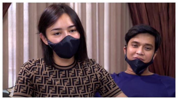 Amanda Manopo dan Billy Syahputra di Dapur Bincang Online, Rabu (20/1/2021). Amanda Manopo mengaku sudah pernah menikah di usia 18 tahun.