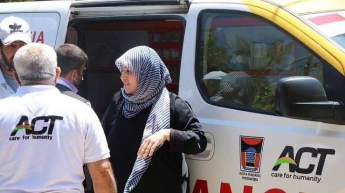 Fakta Viral Foto Ambulans Berlogo Pemkot Padang Membantu Warga Palestina, Gubernur Sumbar Benarkan