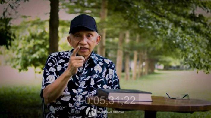 Amien Rais mendesak Presiden Joko Widodo (Jokowi) mencabut Perpres Nomor 10 Tahun 2021 tentang Bidang Usaha Penanaman Modal yang mengizinkan investasi untuk industri minuman keras (miras), Minggu (28/2/2021).