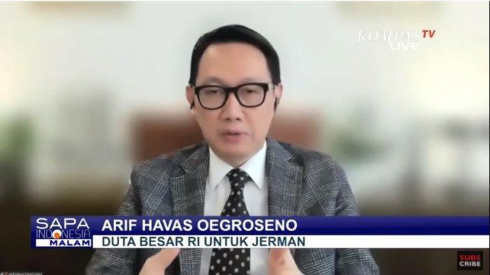 Duta Besar RI untuk Jerman, Arif Havas Oegroseno tidak menutupi kemungkinan Jozeph Paul Zhang sengaja memicu kontroversi demi mencari suaka politik di Jerman. Ditayangkan di Sapa Indonesia Malam Kompastv, Selasa (20/4/2021) malam.
