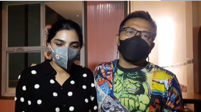 Anang Hermansyah dan Ashanty menuturkan kebahagiaan mereka menanti cucu pertama dari Aurel Hermansyah dan Atta Halilintar, Senin (23/8/2021).