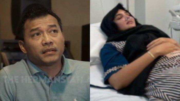 Anang Hermansyah (kiri) - Ashanty (kanan)