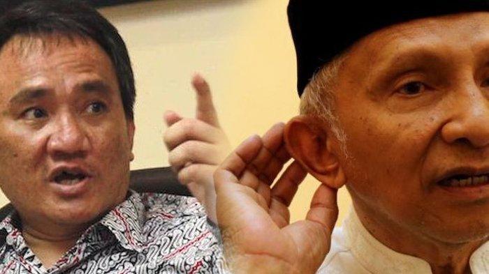 Andi Arief: Saya Harap Pak Amien Rais Tak Usah Sok Jago Tantang-tantang SBY, Prabowo Hati-hati
