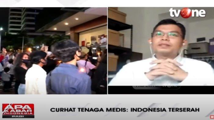 Viral Tagar 'Indonesia Terserah', Dokter Ungkap Kelelahan Tenaga Medis: Kami Perlu Pelampiasan
