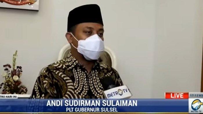Plt Gubernur Sulawesi Selatan (Sulsel) Andi Sudirman Sulaiman mengakui ada celah yang membuat Nurdin Abdullah menerima suap dalam proyek infrastruktur, Minggu (28/2/2021).