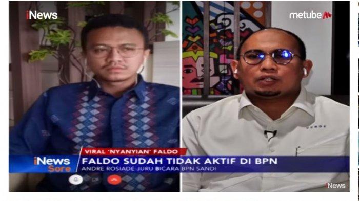 Disentil Andre Rosiade Tak Pernah Datang Rapat BPN, Faldo Maldini Bereaksi: Kenapa Dipermasalahkan?