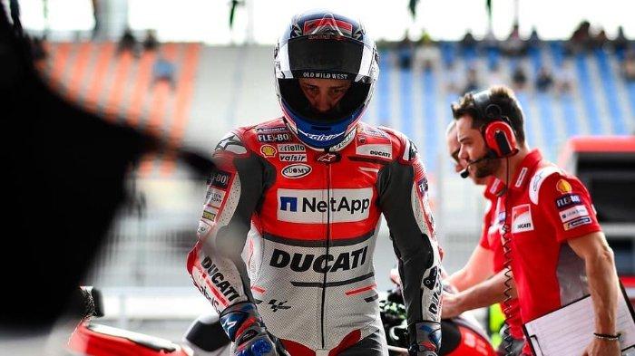 Gagal Juara, Andrea Dovizioso Mengaku Kecewa Ditikung Marc Marquez di Akhir Balapan