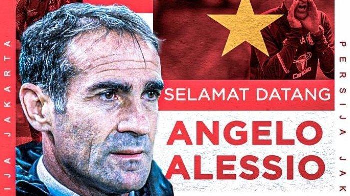 Setelah Ditunjuk sebagai Pelatih Baru Persija Jakarta, Angelo Alessio Akui Tak Sabar Melatih