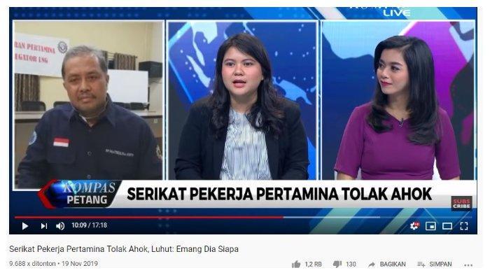 Tanyakan Penolakan SP Pertamina untuk Ahok, Ima Mahdiah: Serikat Orang Tertentu atau Semua Karyawan