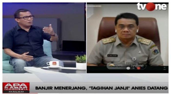 Merespons Riza Patria soal Banjir Jakarta, Johny Simanjuntak: Betul, tetapi Harus Ada Progres Dong