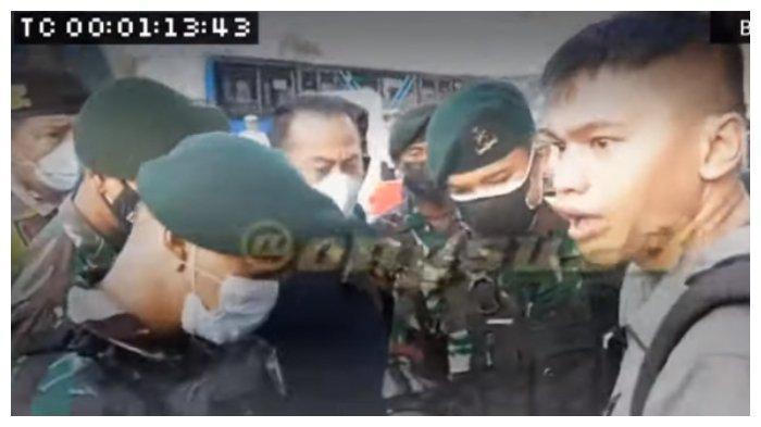 Anggota Paspampres diintimidasi petugas penyekatan PPKM Darurat