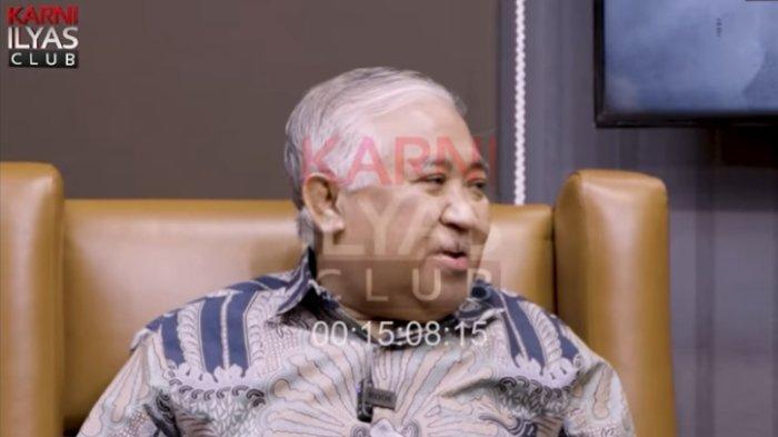 Anggota Presidium KAMI Din Syamsuddin menanggapi tudingan dirinya dianggap sebagai oposisi, Minggu (21/2/2021).