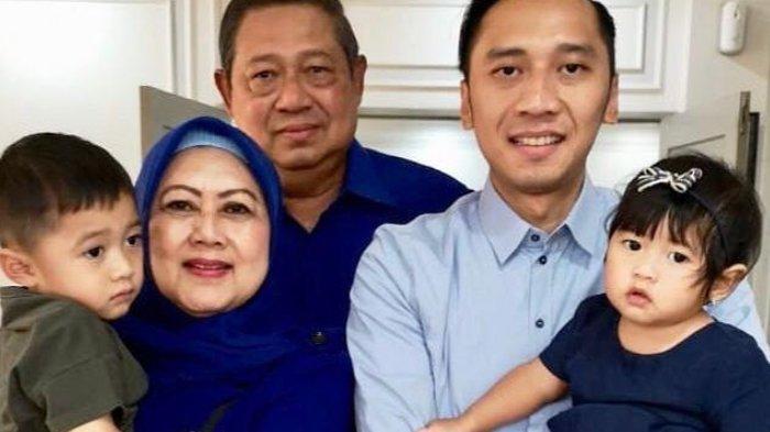 Kebersamaan Ani Yudhoyono Bersama Sby Anak Menantu Dan Para Cucu Sebelum Meningal Dunia Tribun Wow