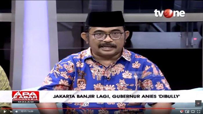 Beri Nilai 9 untuk Anies Baswedan soal Banjir Jakarta, Rahmat HS Ungkap Kehebatan sang Gubernur