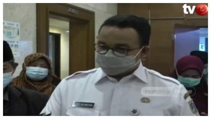 Tangkapan layar - Gubernur DKI Jakarta Anies Baswedan bicara soal kesiapan PPKM Darurat. Anies Baswedan menyebut tidak ada persiapan khusus untuk melaksanakan PPKM Darurat 3 Juli 2021 mendatang, Kamis (1/7/2021).