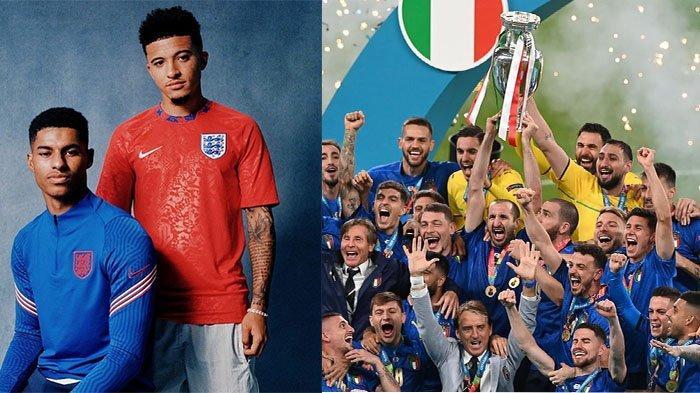 EURO 2020: Strategi Salah Southgate, 2 Pemain Man United Gagal Penalti, Inggris Gagal Juara