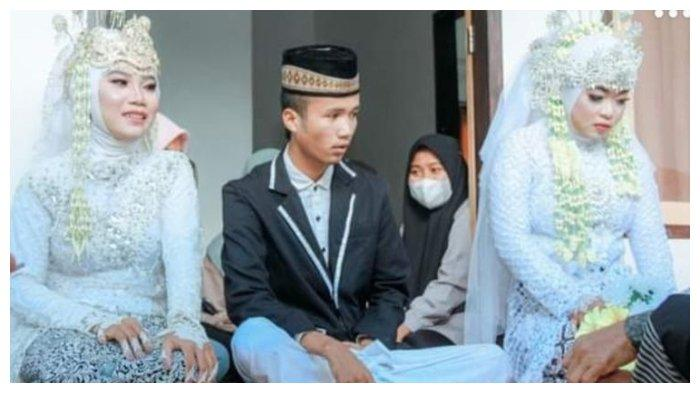 Viral Pria 20 Tahun di Lombok Nikahi 2 Wanita Sekaligus, Istri Pertama Pasrah: Saya Bisa Apa, Takdir