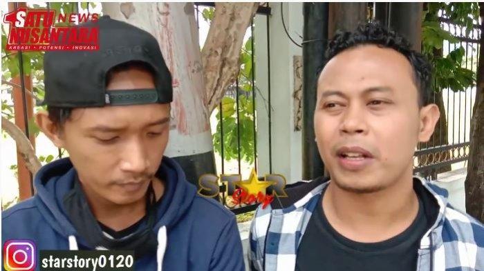 Ardi (kiri) dan Tebe eks Sabyan memberi komentar soal klarifikasi dari pihak Ayus dan Nissa Sabyan, Rabu (24/2/2021).