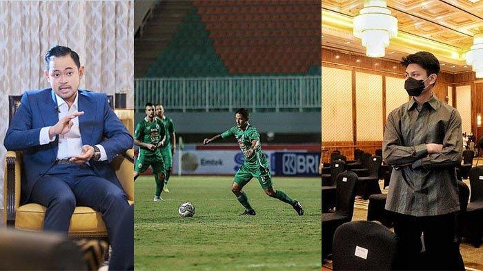 Gilang Widya (kiri) Irfan Bachdim (tengah) dan Gamma Thohir (kanan). Arema FC waspada, Persis Solo turut ramaikan perburuan Irfan Bachdim.