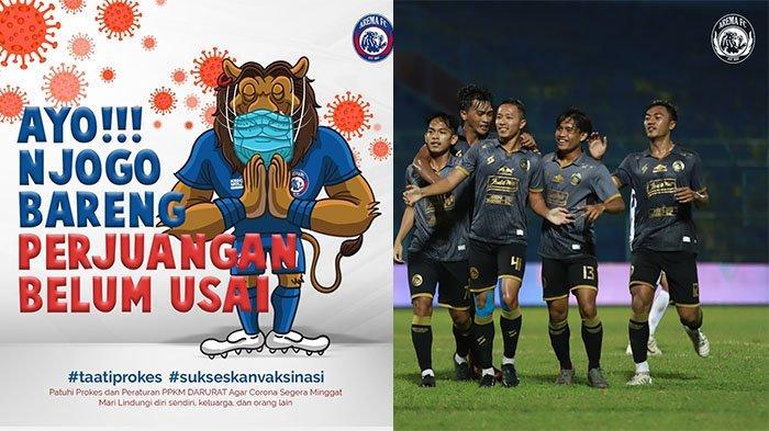Arema FC Terus Galakkan Aksi Sosial di Tengah Ketidakpastian Liga 1 2021: Beri Apresiasi Relawan