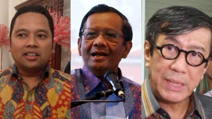 Saran Mahfud MD soal Kasus Wali Kota Tangerang dengan Menteri Yasonna: Mengapa Repotkan Polisi?