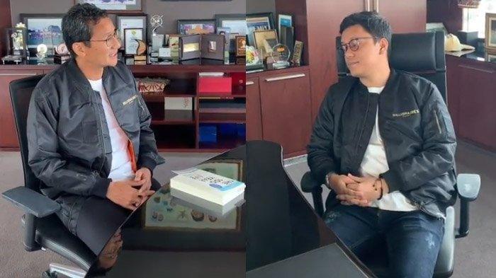 Di Nasihati Arief Muhammad karena Terlalu Sering Main, Sandiaga Uno: Gimana Jelasinnya Ya?