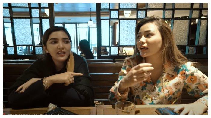 Ashanty dan Aurel Hermansyah (kanan) buka suara soal busana Krisdayanti yang menjadi sorotan netizen, Kamis (18/3/2021).
