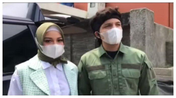 Atta Halilintar dan Aurel Hermansyah mengakui akan gelar resepsi di luar negeri, Senin (3/5/2021).