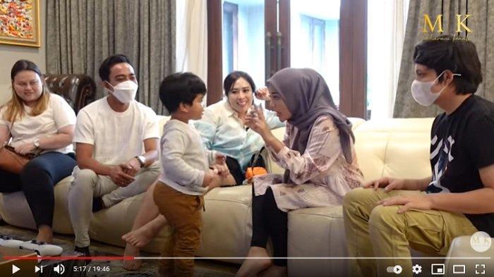 Atta Halilintar dan Aurel Hermansyah gemas dengan putra pengusaha asal Bali.