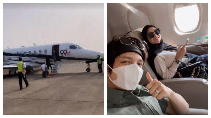 Pulang ke Kampung Halaman Aurel, Atta Halilintar Dijemput Sultan Malang: Canggih, Pakai Private Jet