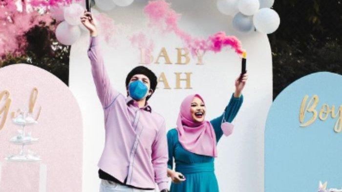 Atta Halilintar dan Aurel Hermansyah mengadakan pesta untuk merayakan jenis kelamin sang buah hati.