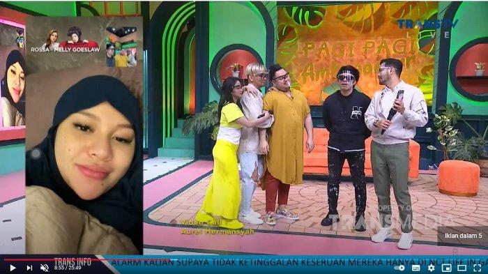 Atta Halilintar dan Aurel Hermansyah menjadi bintang tamu di acara Pagi Pagi Ambyar.