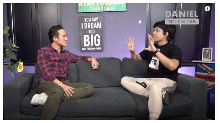 Atta Halilintar dan Daniel Mananta, Senin (7/9/2020). Curhat pada Daniel Mananta, Atta Halilintar mengungkapkan menjadi YouTuber yang digadang-gadang nomor satu tidaklah mudah.