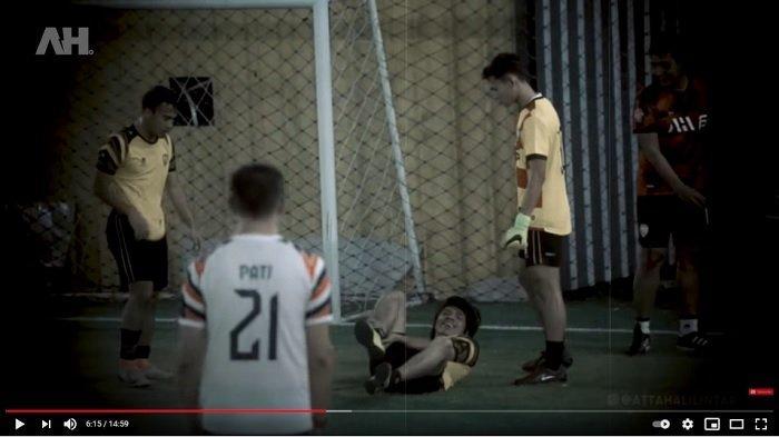 Reaksi Aurel saat Atta Halilintar Alami Cedera karena Main Bola: Sudah Berkali-kali, Jangan Bandel