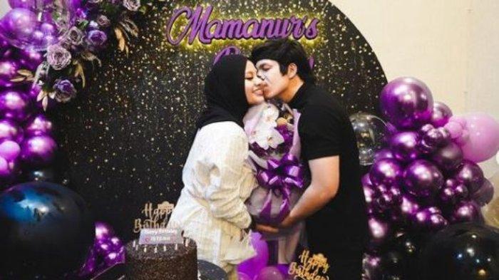 Atta Halilintar merayakan ulang tahun Aurel Hermansyah yang ke-23, Minggu (10/7/2021).