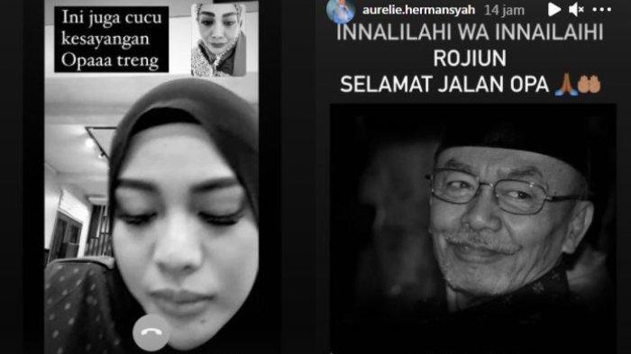 Kakek Aurel Meninggal, Istri Atta Halilintar Unggah Foto Ayah Krisdayanti Disertai Ungkapan Duka